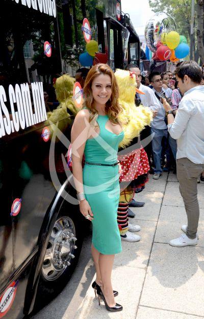 Luz Elena González se pone en Marcha