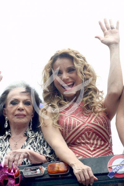 Elizabeth Alvarez es la reina de los Gay