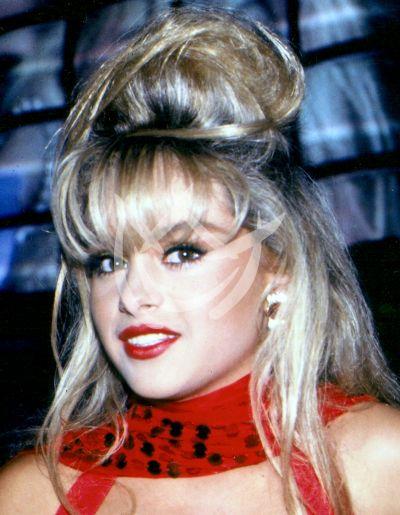Paulina en Timbiriche 1990