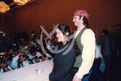 Salma y Robert en 1994