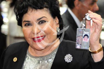 Carmen Salinas ya es diputada del PRI
