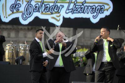 La Original Banda el Limón de 50 al Zócalo