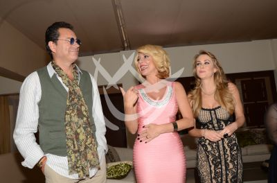 Roberto, Mónica e Ingrid presentan a Lichita