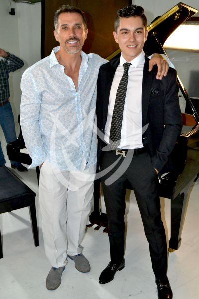 Sergio y Sergio Jr en video