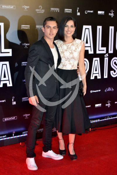 Bárbara Mori e hijo y más con Alicia