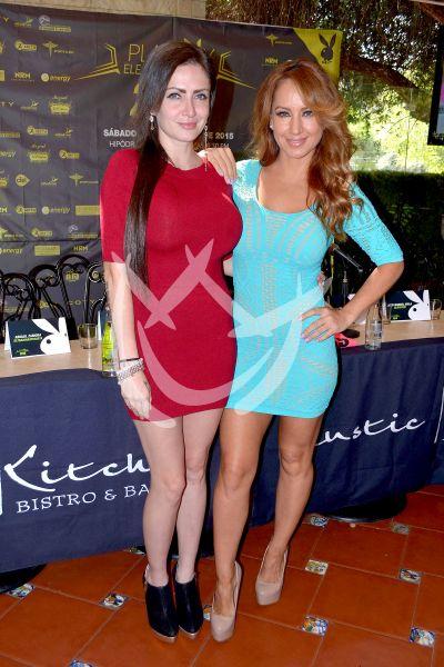 Celia Lora y Maya Karunna corren con Playboy