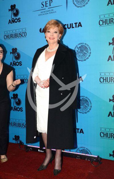 Jacqueline en los Estudios Churubusco