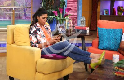 Francisca texting!