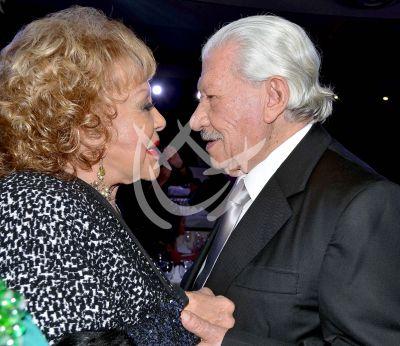 Silvia Pinal con don Ignacio ¡Bravo!