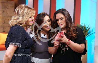 Ana María, Neida y Angélica