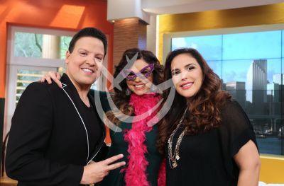 Raúl, Rashel y Angélica