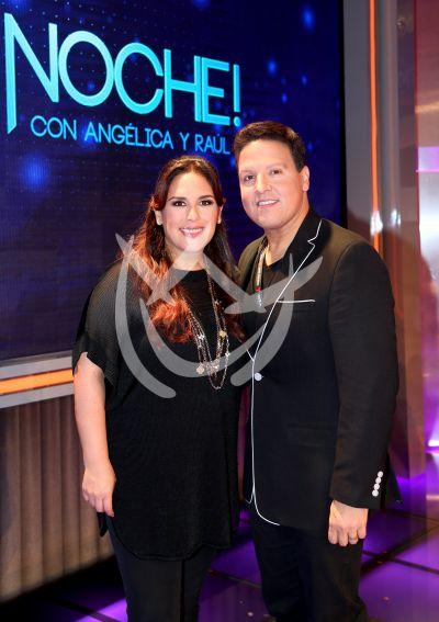 Angélica y Raúl ¡Qué Noche!