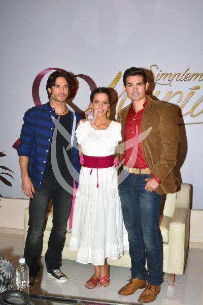 Ron, Claudia y Ferdinando
