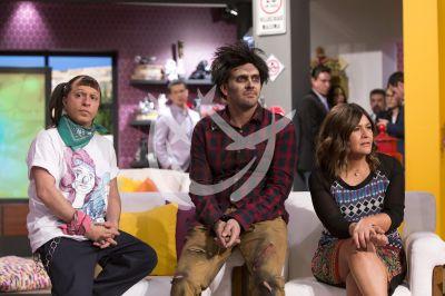 Reynaldo, Ricardo y Martha