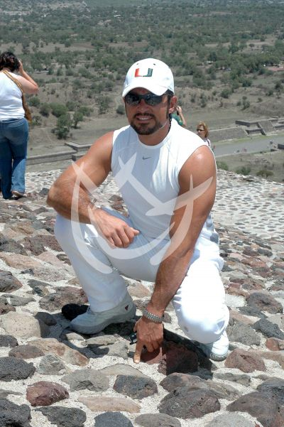 Fernando en Teotihuacán