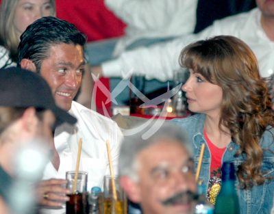 Fernando y Angélica Rivera
