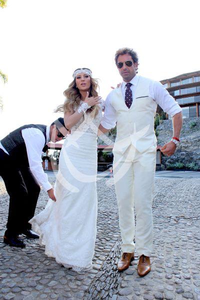 Geraldine y Gabriel ¡marido y mujer!