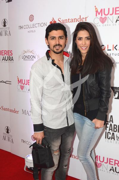 Miguel con Aura