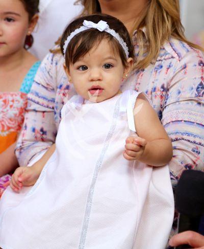 La hija de Adamari ya tiene un año