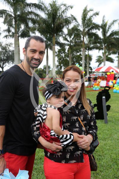 Adamari, Toni y Alaia ¡al Circo de Matteo!