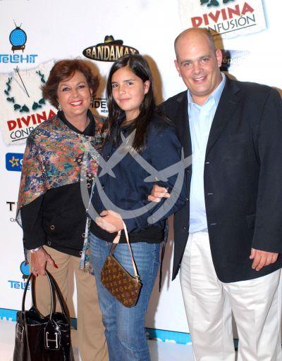 Talina, Coco y la hija de Mariana, 2008