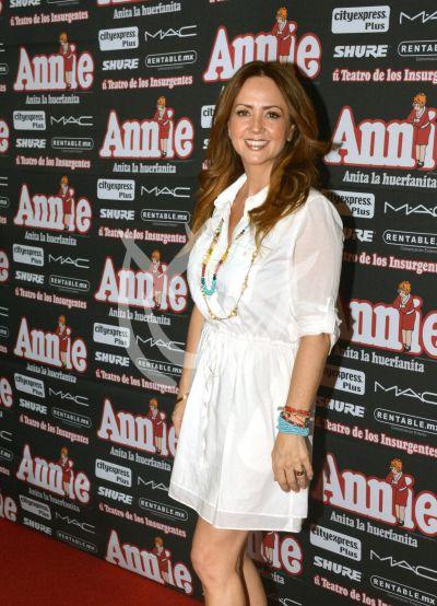 Andrea con Annie