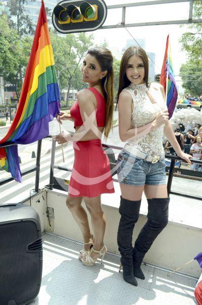 Aleida, Marlene y más con orgullo Gay