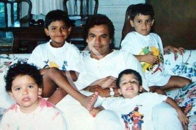 Juan Gabriel y sus hijos, 1986