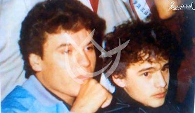 Juan Gabriel e hijo Alberto Jr