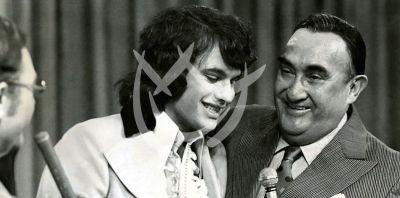 Juan Gabriel y Pedro Vargas, 1974