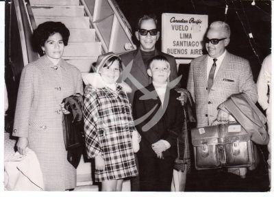 Mario Moreno en familia, 1974