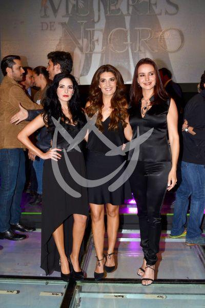 Mayrín, Ximena y Alejandra son Mujeres de Negro