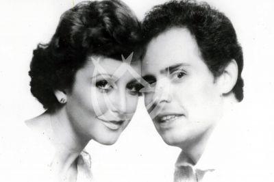 Angélica María y Raúl Vale