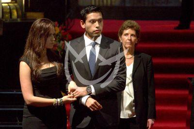 Hijo de Juan Gabriel en Bellas Artes