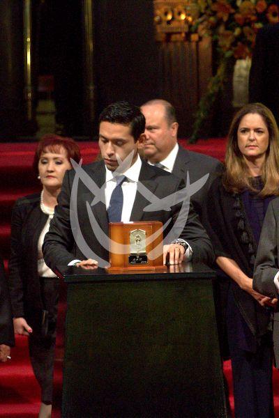 El adiós a Juan Gabriel en Bellas Artes