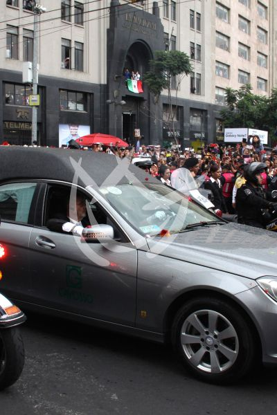 Juan Gabriel llega a Bellas Artes