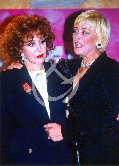 Silvia Pinal y Sylvia Pasquel 1991