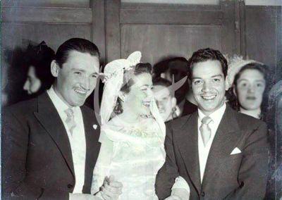 Silvia Pinal boda Rafael Banquells y Cantinflas