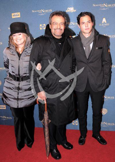 Gonzalo Vega y familia