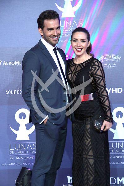 Ariadne Díaz y Marcus Ornelas ¡in love! en las Lunas