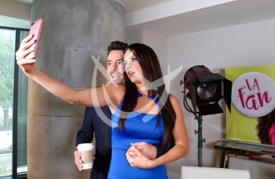 Juan Pablo y Ximena ¡selfie!