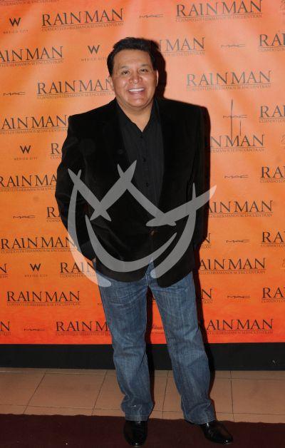 Tony Flores con RainMan
