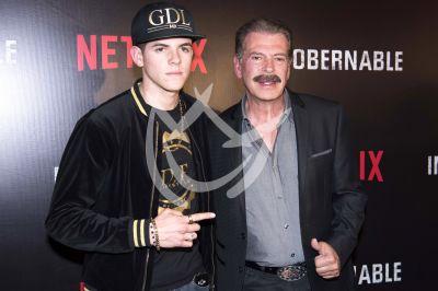Sergio Goyri e hijo