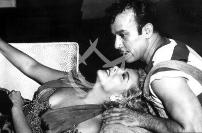 Pedro con Silvia Pinal