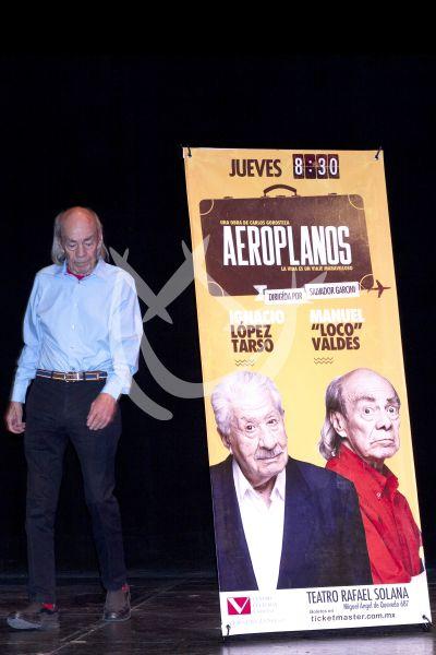López Tarso y Loco Valdés vuelan