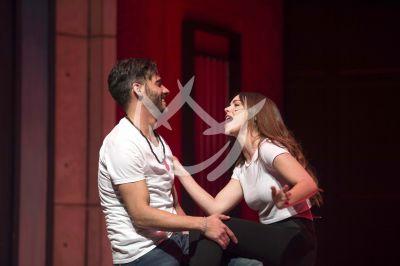 Erick Elías y Sebastián Zurita con Camila en musical