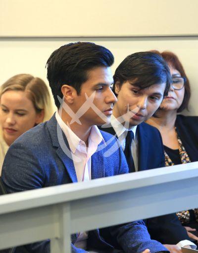 Luis Alberto y Joao Gabriel Aguilera a la Corte por Juanga