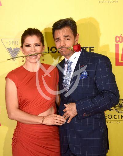 Eugenio Derbez con su esposa Alessandra de Latin Lover