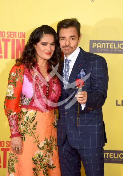 Salma Hayek y Eugenio Derbez son Mx Latin Lovers