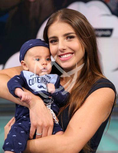 Michelle Renaud presume a su ¡baby!: conoce a Marcelo